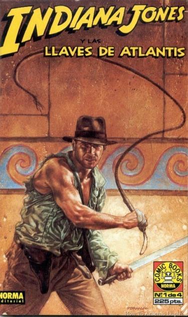 P00001 - Indiana Jones y las llaves de Atlantis  .howtoarsenio.blogspot.com #1