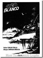 P00006 - Carlos Trillo y E. Breccia - Oro blanco.howtoarsenio.blogspot.com